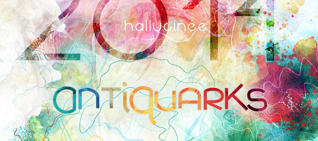 Visuel Voeux Antiquarks © Merryl Zeliam > http://book.merrylzeliam.com/