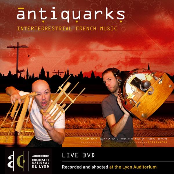 Jaquette DVD Moulassa Duo de Particule
