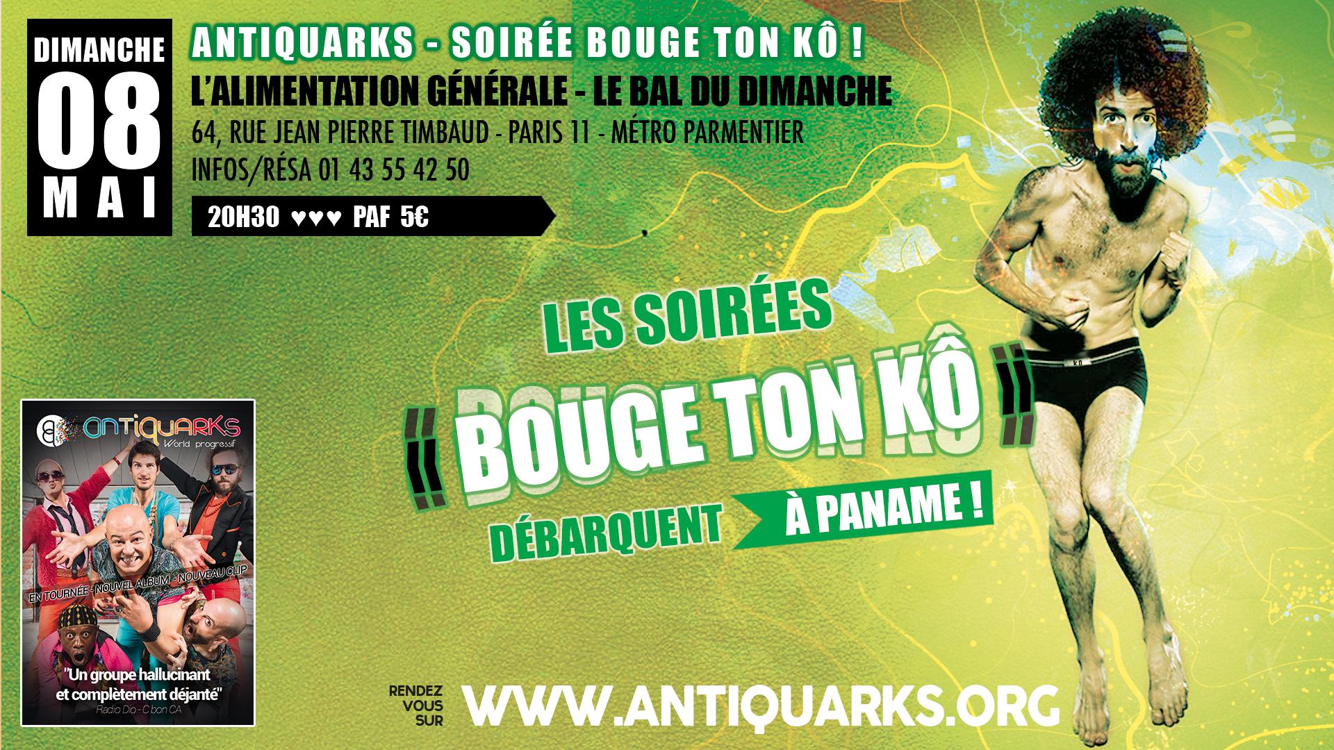 SOIRÉE BOUGE TON KÔ / ANTIQUARKS KÔ TOUR @ L'Alimentation Générale | Paris | Île-de-France | France