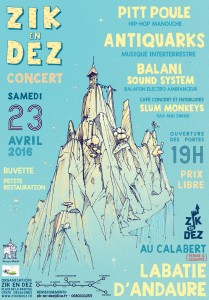 ANTIQUARKS / KÔ TOUR @ Zik En Dez | Labatie-d'Andaure | Auvergne Rhône-Alpes | France