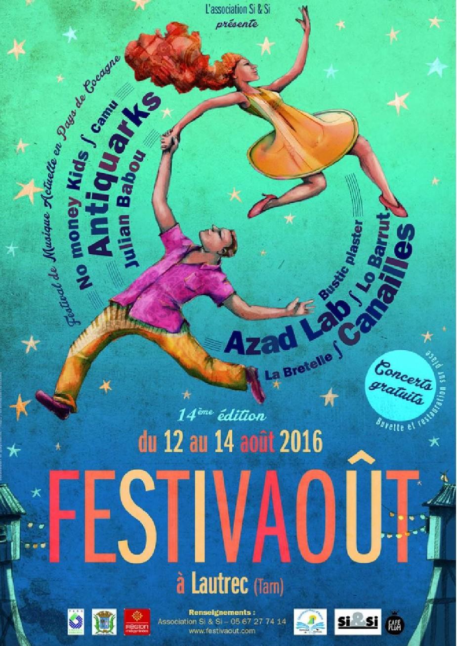 ANTIQUARKS KÔ TOUR @ Festivaoût | Lautrec | Languedoc-Roussillon Midi-Pyrénées | France