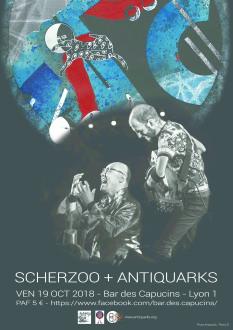 Antiquarks Duo @ Les capucins | Lyon-1ER-Arrondissement | Auvergne-Rhône-Alpes | France