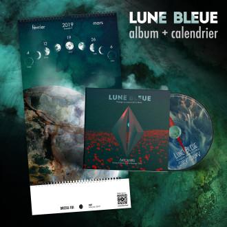 PACK album calendrier LUNE BLEUE